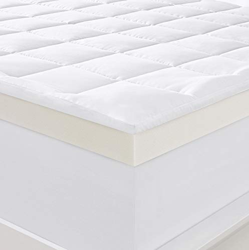 Serta 4' Pillow-Top and Memory Foam Mattress Topper, King