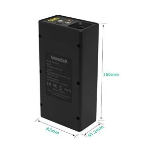 TalentCell-12V-Lithium-ion-Battery-PB120B1-Rechargeable-38400mAh-14208Wh-Li-ion-Battery-Pack-with-DC-12V-and-5V-USB-Output-for-LED-Light-Strip-CCTV-Camera-Mobile-and-More