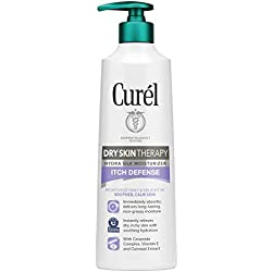 Curél Hydra Silk Itch Defense Moisturizer, 12 Ounce Dry, Itchy Skin Therapy Lotion, with Oatmeal Extract, and Vitamin E, Experience Non-irritating Hydration