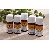 Lotus Touch Blended Essential Oil Trial Kit Includes 2 ml Each of 5 Blends