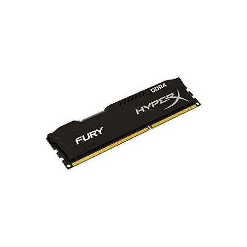 HyperX Fury Black 8 GB CL15 DIMM DDR4 2400 MT/s Internal Memory (HX424C15FB2/8) 167