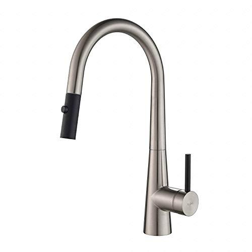 Kraus KPF-2720SS Crespo Kitchen Faucet, Stainless Steel