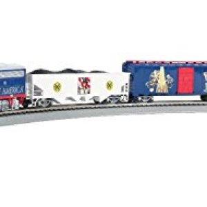 Bachmann Trains – Scout Special – Boy Scouts Of America E-Z App Smart Phone Controlled Ready To Run Electric Train Set – HO Scale 311l 2Bt 2Bt9CL