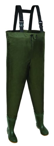 Allen Company Brule River Bootfoot Chest Waders with Cleated Soles