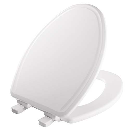 MAYFAIR Toilet Seat will Slow Close, Never Loosen and Easily...