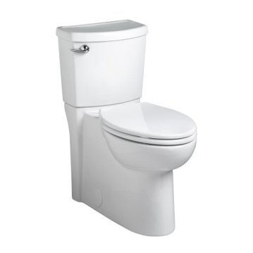 American Standard 2989101.020 Cadet 3 1.28 GPF Elongated Toilet with 12-In Rough-In, 3, White