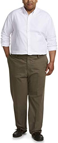 Amazon Essentials Men's Relaxed-fit Wrinkle-Resistant Flat-Front Chino Pant 3