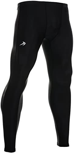 CompressionZ Men's Thermal Compression Pants Base Layer Running Tights Athletic Leggings for Winter 1