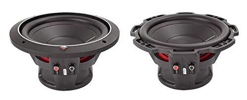 2 ROCKFORD FOSGATE P1S4-10 10' 1000 Watt 4-Ohm Car Audio Subwoofers Sub P1S410