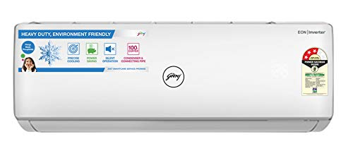 313XH0BizxL - Godrej 1.5 Ton 3 Star Inverter Split AC (Copper GIC 18WTC3-WSB White)