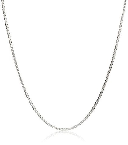 Honolulu Jewelry Company Sterling Silver 1mm Box Chain Necklace