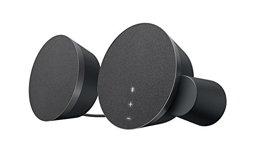 Logitech MX Sound 2.0 Multi Device Stereo Speakers with premium digital audio for desktop computers, laptops, and Bluetooth-enabled
