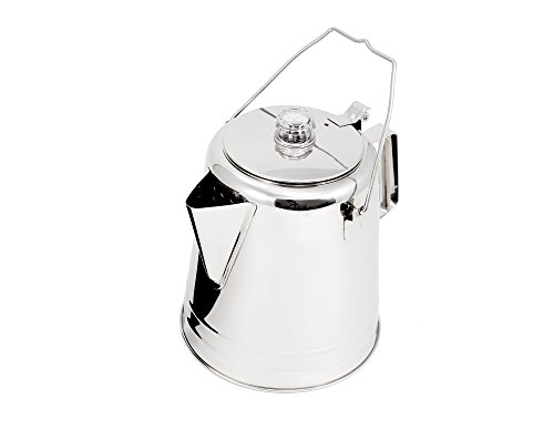 GSI Glacier Stainless Coffee Perk Cup, 28 Cup