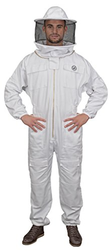 Humble Bee 410-XL Polycotton Beekeeping Suit with Round Veil (X Large)