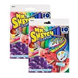 Mr. Sketch Scented Stix Watercolor Markers, Assorted Colors 2 Packs of 10