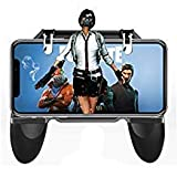 Mobile Game Controller and Gamepad, Sensitive Shoot and Aim Trigger Fire Buttons L1R1, Ergonomic Design Handle Holder Handgrip Stand for Fortnite/PUBG Mobile/Knives Out/Rules of Survival