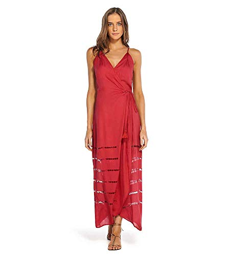 51qssUhpq7L Designer: Vix Swimwear Collection: Divino Name: Grazi Long Maxi Dress