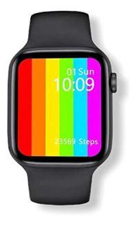 Relógio Smartwatch IWO 12 Lite W26 Tela Infinita HD 1.75″ Preto Troca Pulseiras