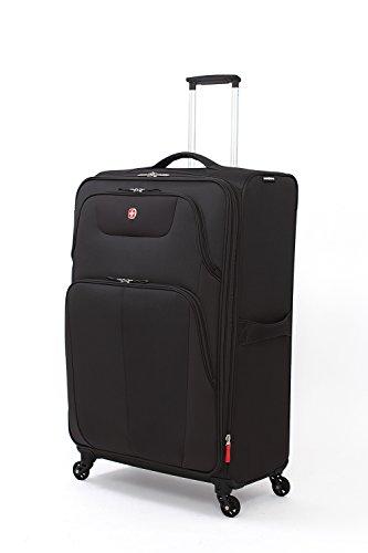 "SwissGear Meyrin 29"" Expandable Spinner Suitcase, Black"