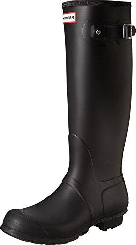 Hunter Women's Original Tall Black Rain Boots - 9 B(M) US