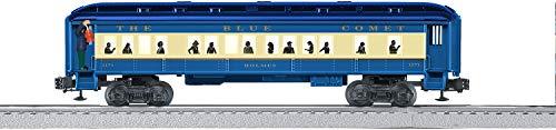 Lionel-Blue-Comet-Electric-O-Gauge-Model-Train-Cars-Coach