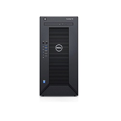 2018 Newest Flagship Dell PowerEdge T30 Business Mini Tower Server Desktop - Intel Quad-Core Xeon E3-1225 v5 8M Cache up to 3.7GHz 16GB UDIMM RAM 2TB HDD SuperDVDBurner HDMI No Operating System Black