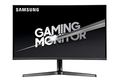 Samsung LC27JG50QQNZA Series Curved 27' Gaming WQHD Monitor Dark Blue Grey