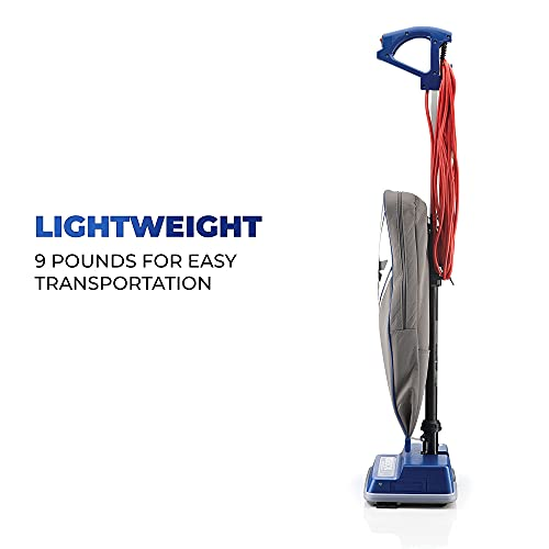Oreck XL Commercial Upright Vacuum Cleaner, Bagged Professional Pro Grade, 9 Pounds 35-Foot Long Cord, XL2100RHS, Gray/Blue 13