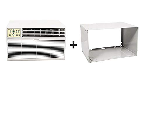 Koldfront WTC12001WKIT 12,000 BTU 220V Through The Wall Heat/Cool Air Conditioner with Sleeve