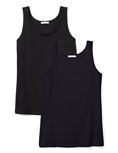 315zFgnDB9L A 2-pack of tanks combines a scoopneck with a straight hem for versatile, everyday wear Lightweight Supimais made with 100%certified Supima Cottonfor a supremely soft, featherweight feel Start every outfit with Daily Ritual's range of elevated basics