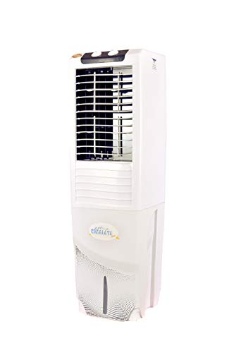 3163RBkPAbL - Himalaya Coolers Personal Room Air Cooler with Silent Fan and Honeycomb Pads (40 L Capacity, White)