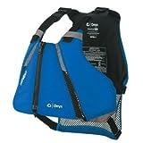 Onyx MoveVent Curve Paddle Sports Life Vest, Medium/Large, Blue