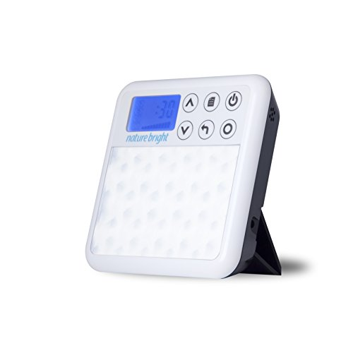 Nature Bright Sun Bliss 2 in 1 Portable Light Therapy and Wake-Up Light