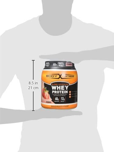 Body Fortress Super Advanced Whey Protein Powder, Gluten Free, Strawberry, 2 Pound (Packaging May Vary) 9