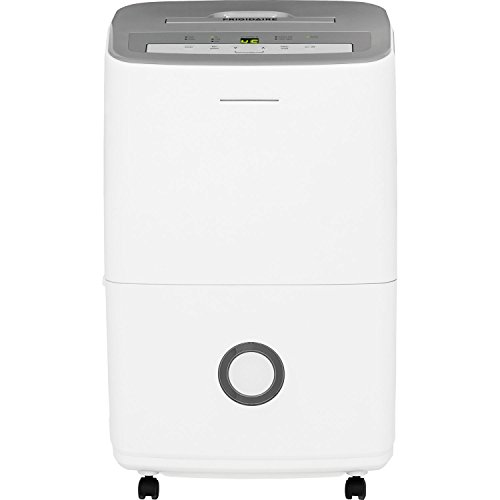 70-Pint Dehumidifier with Effortless Humidity Control, White