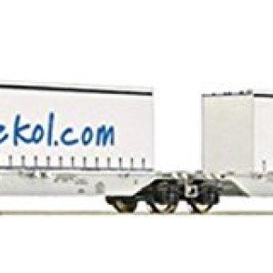 Fleischmann 825329 AAE Sggmrs ekol Double Container Wagon VI 316yAanZ4KL