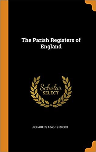 The Parish Registers of England (Hardcover)