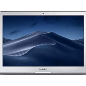 Apple MacBook Air (13-inch, Previous Model, 8GB RAM, 128GB Storage, 1.8GHz Intel Core i5) – Silver