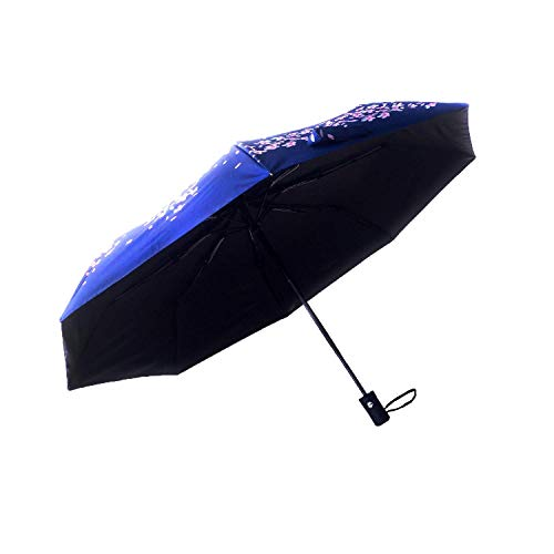 Umbrellas for Women by Hawaiian Sunsets | Small Compact Windproof Travel Umbrella | Sun Protection UPF 50+ Parasol Umbrella | Do Not Limit Yourself to a Black Umbrella - Available in Colors & Designs!