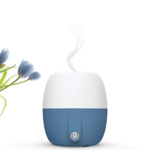 Anton Aroma Best Essential Oil Diffuser, Scent and Fragrance Aromatherapy, Humidifier - Now with Italian modern Design, 140ml, Extra Long Cord, Timer, Auto Shut Off, Soft Paint, Color LED