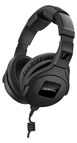 Sennheiser HD 300 Pro Headphones for Sound Editing, Playing or Composing Music delivers a neutral, high-resolution working sound.