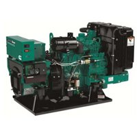 10KW Cummins Onan SD 10000 Three Phase Diesel Commercial Mobile 35A Generator – 10.0HDKAG-61733