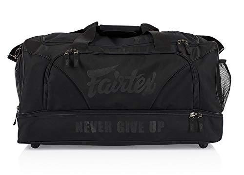 GENUINE FAIRTEX GYM BAG with premium grade waterproof nylon BAG2 Gym Super Black