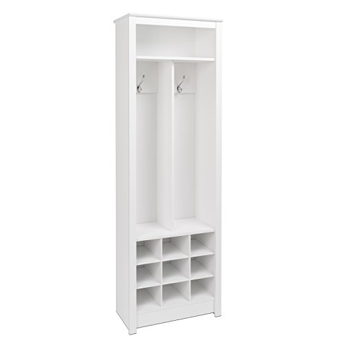 Prepac WSOH-0010-1 Entryway Organizer in White