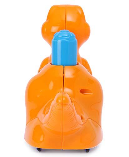 318t%2B9yHLoL Pretty Child Toys Dinosaur Push & Go Animal Toy for Children / Infants (Orange) - Made in India