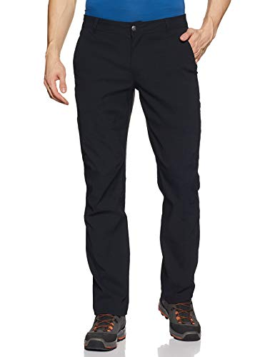 Columbia Men's Royce Peak II Hiking Pants, Water repellent, Stain Resistant, Black, 32x32