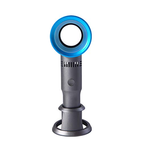 ThsiJJ Hand Held Personal Fan Rechargeable Battery Operated Powered Cooling Desktop Electric Fan for Home Office Outdoor