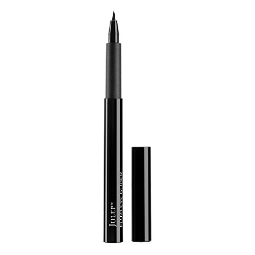 319bKpcuCEL A jet black fluid eyeliner pen with a no-fray precision felt tip that makes it easy to create thin or thick lines. No eye look is off limits. This liquid liner glides on, dries fast, and stays put for 12+ hours.  The no-fray precision felt tip makes it easy to create custom eye looks. Opthamologically tested.