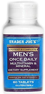 Trader Joe's Men's Formula, 60 tablets