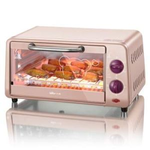 WHHH Oven Single Electric Oven Multifunctional Home Mini Baking Oven 10 Liters Cake Maker Stainless Steel Convection Oven For Kids Diy 319vgYqDlKL